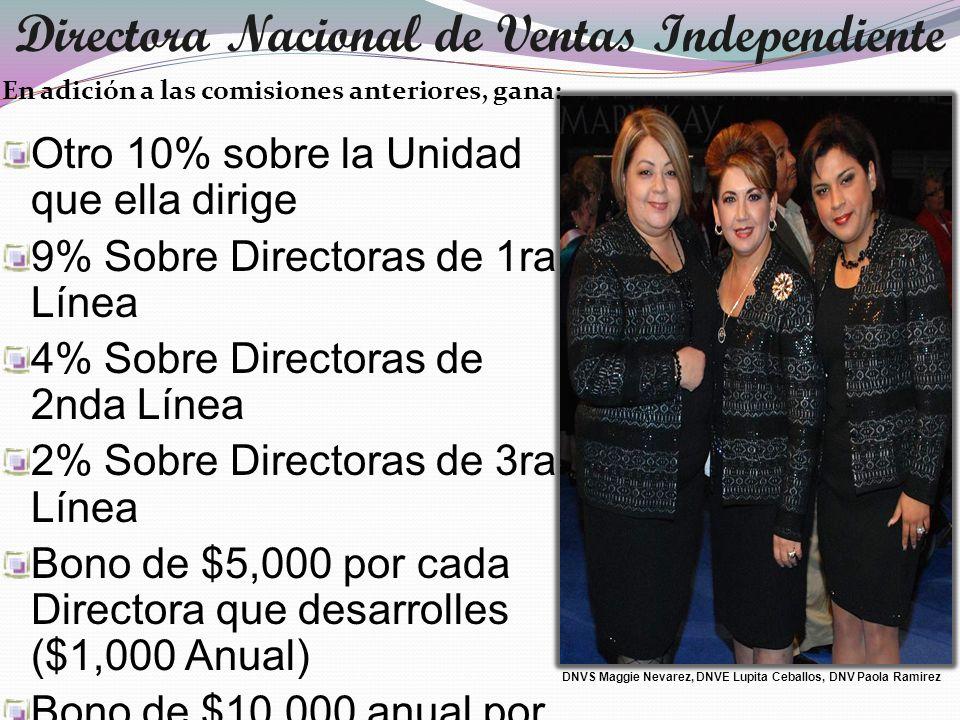 Directora Nacional de Ventas Independiente