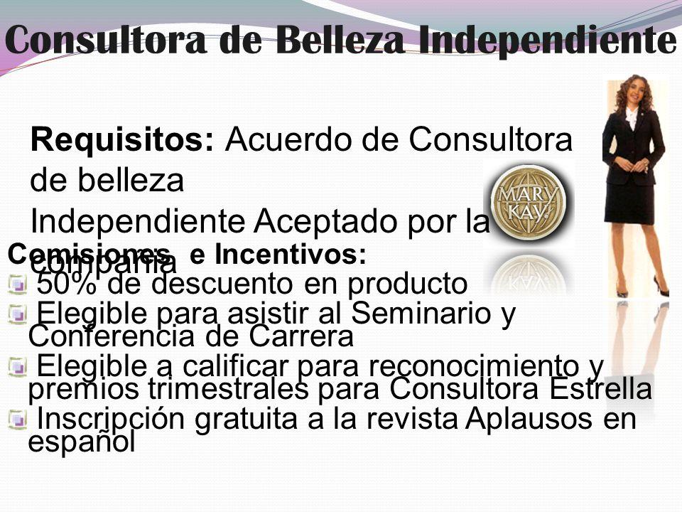 Consultora de Belleza Independiente
