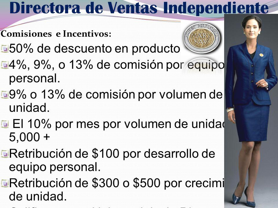 Directora de Ventas Independiente
