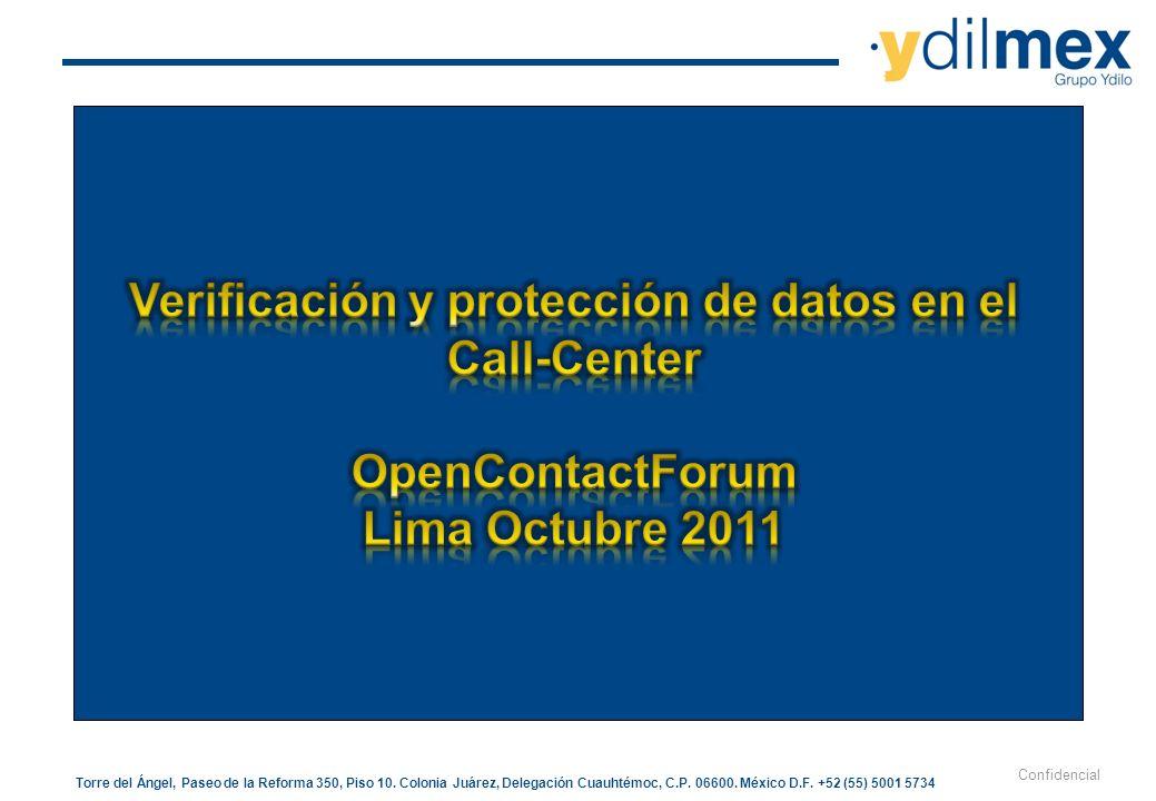 Verificación y protección de datos en el Call-Center