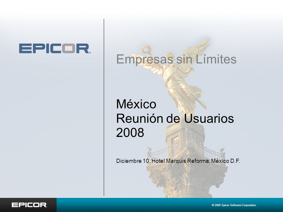 México Reunión de Usuarios 2008