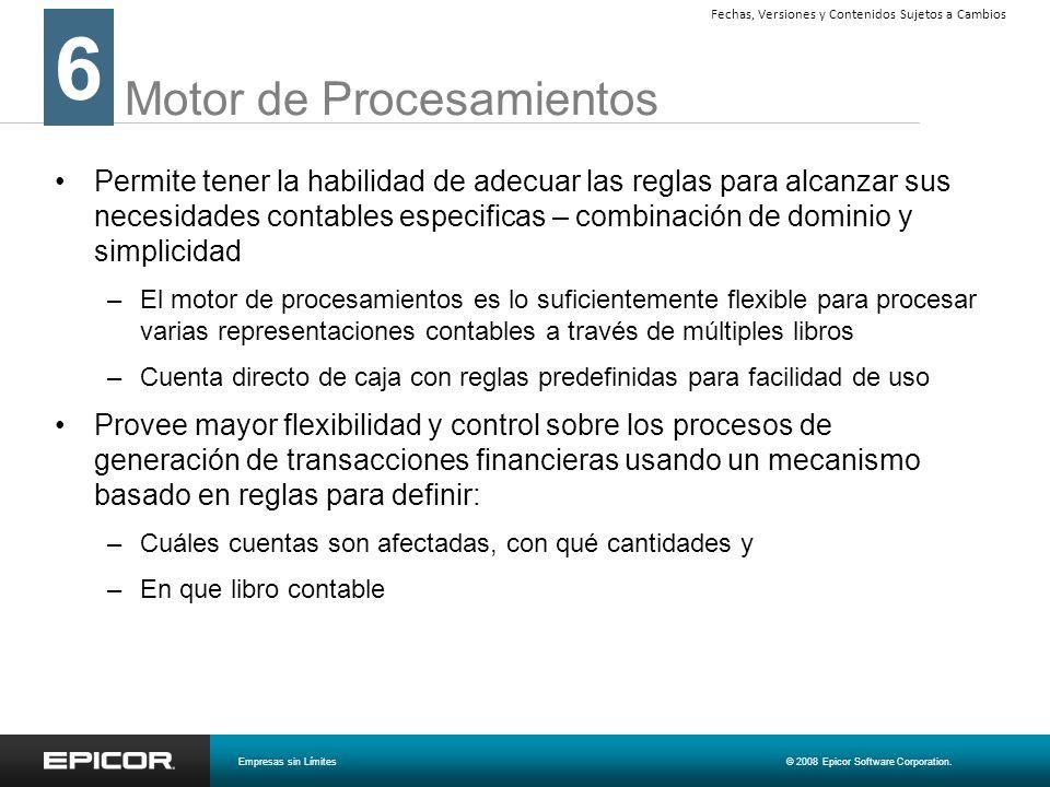 Motor de Procesamientos
