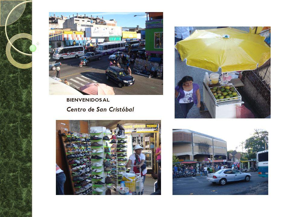BIENVENIDOS AL Centro de San Cristóbal