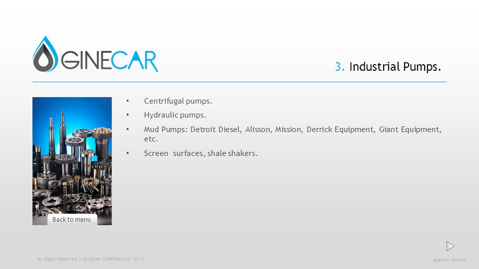 3. Industrial Pumps. Centrifugal pumps. Hydraulic pumps.