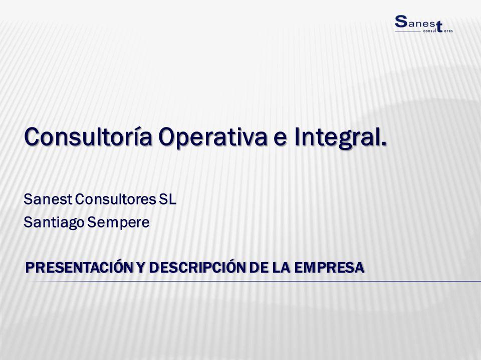 Presentación y descripción de la empresa