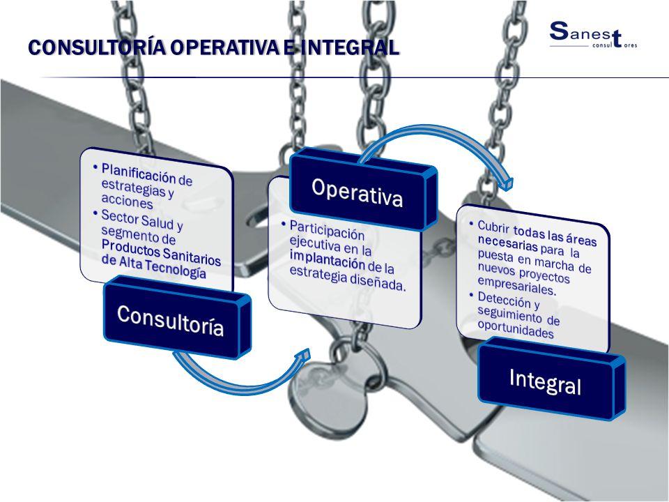 Consultoría operativa e integral