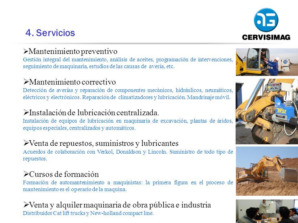4. Servicios Mantenimiento correctivo