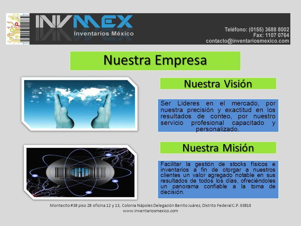 Nuestra Empresa Nuestra Visión Nuestra Misión