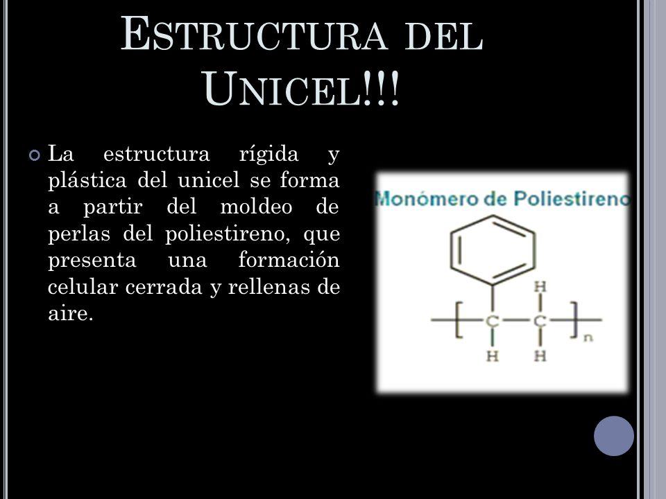 Estructura del Unicel!!!
