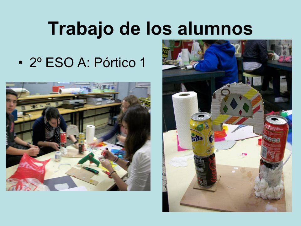 Trabajo de los alumnos 2º ESO A: Pórtico 1