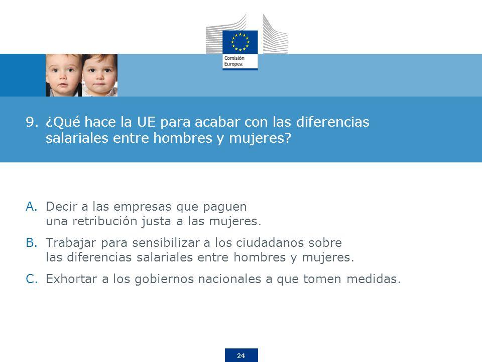 ¿Qué hace la UE para acabar con las diferencias salariales entre hombres y mujeres