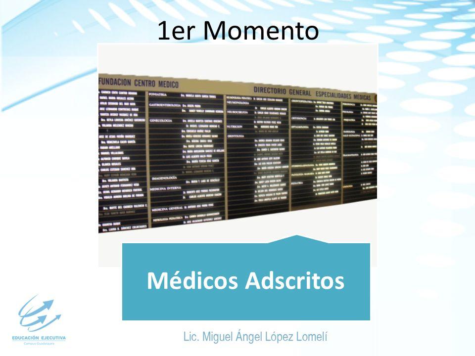 1er Momento Médicos Adscritos