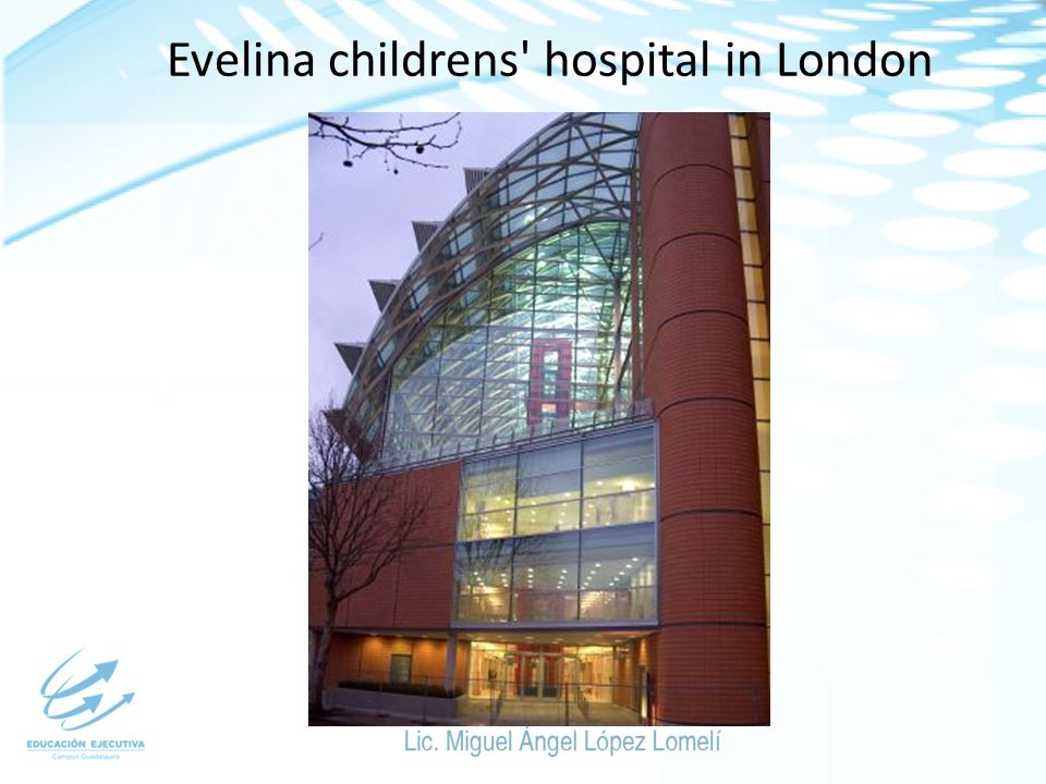 Evelina childrens hospital in London