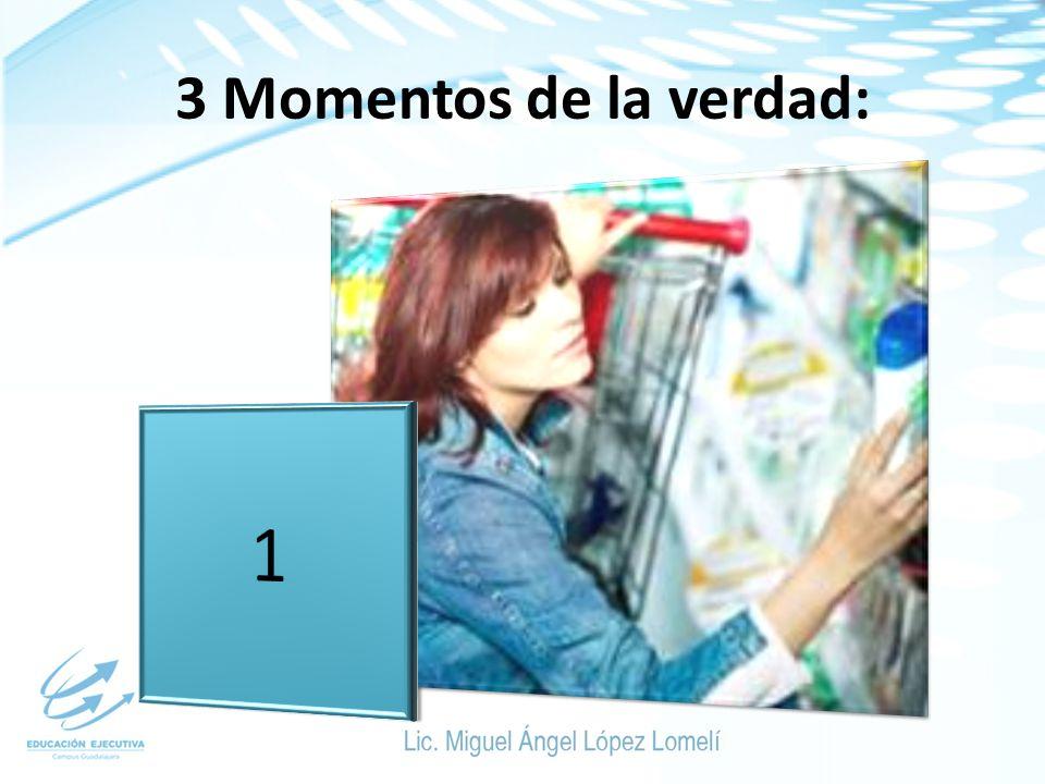3 Momentos de la verdad: 1