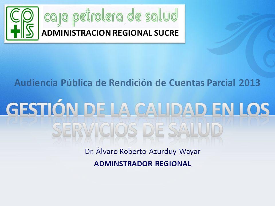 GESTIÓN DE LA CALIDAD EN LOS SERVICIOS DE SALUD