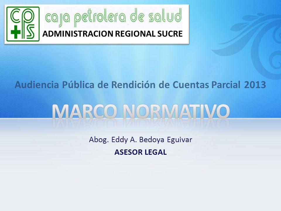 Audiencia Pública de Rendición de Cuentas Parcial 2013