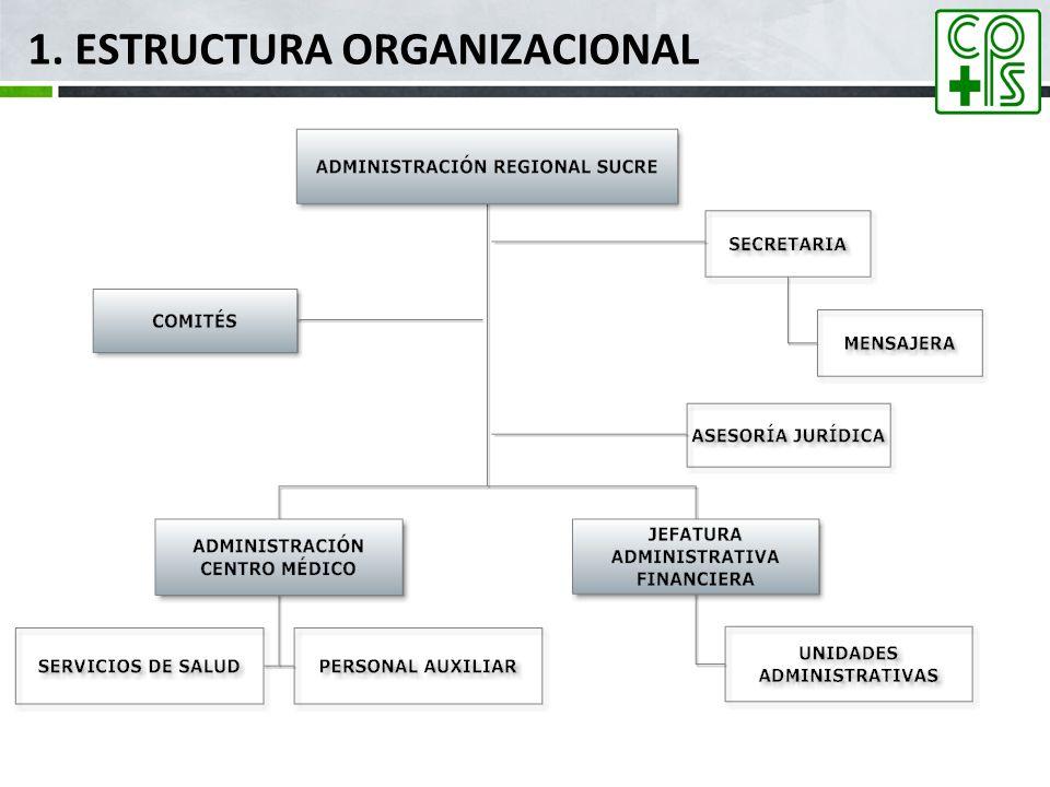 1. Estructura Organizacional