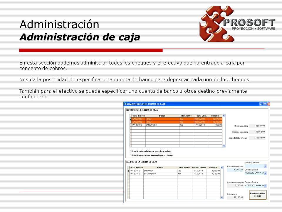 Administración Administración de caja