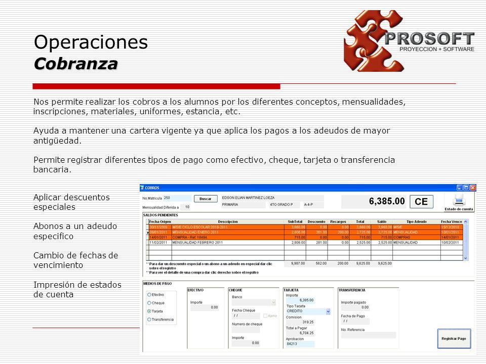 Operaciones Cobranza.
