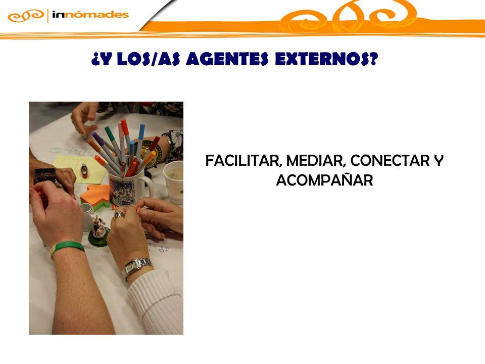 ¿Y LOS/AS AGENTES EXTERNOS