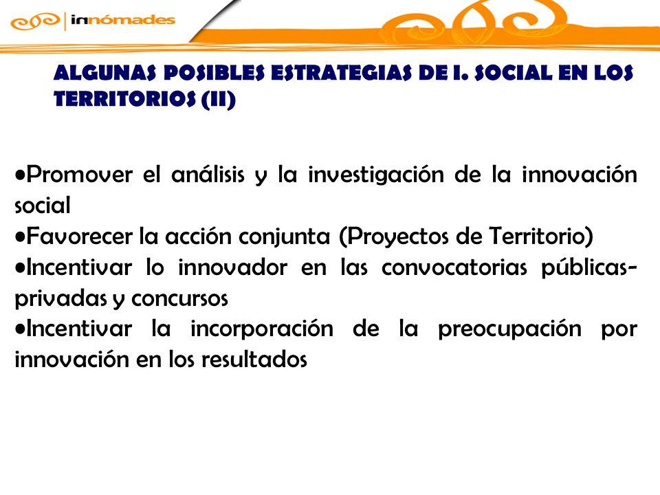 Promover el análisis y la investigación de la innovación social