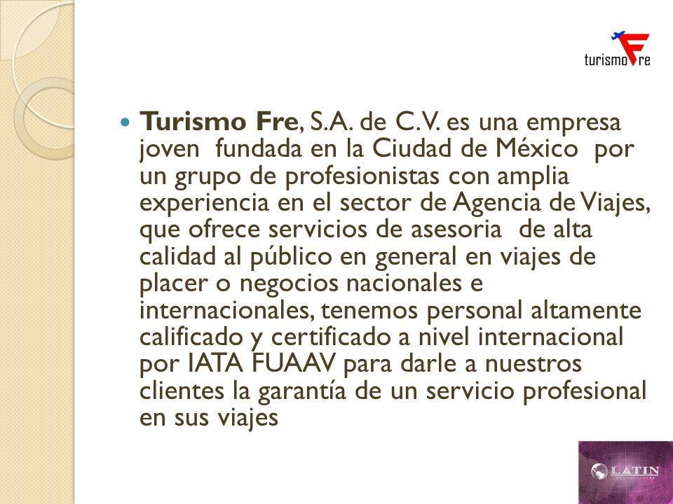 Turismo Fre, S.A. de C.V.