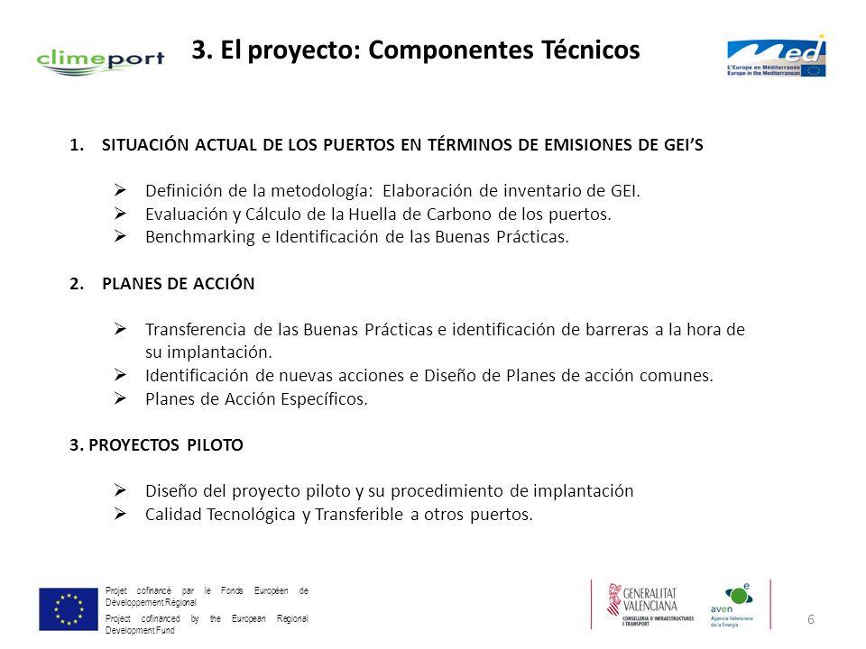 3. El proyecto: Componentes Técnicos
