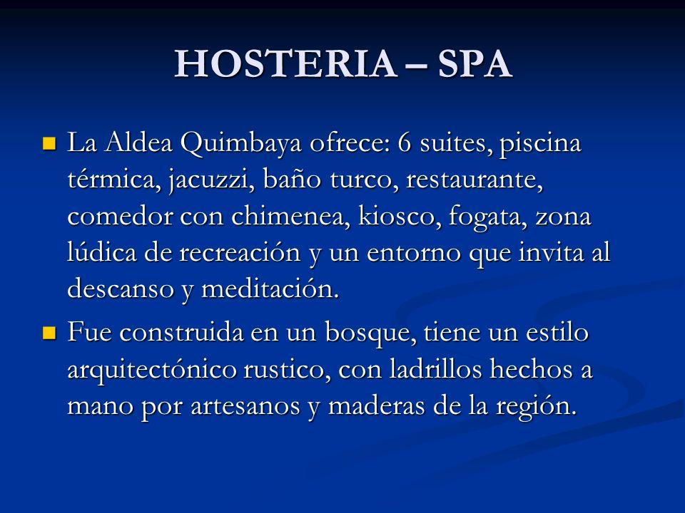 HOSTERIA – SPA