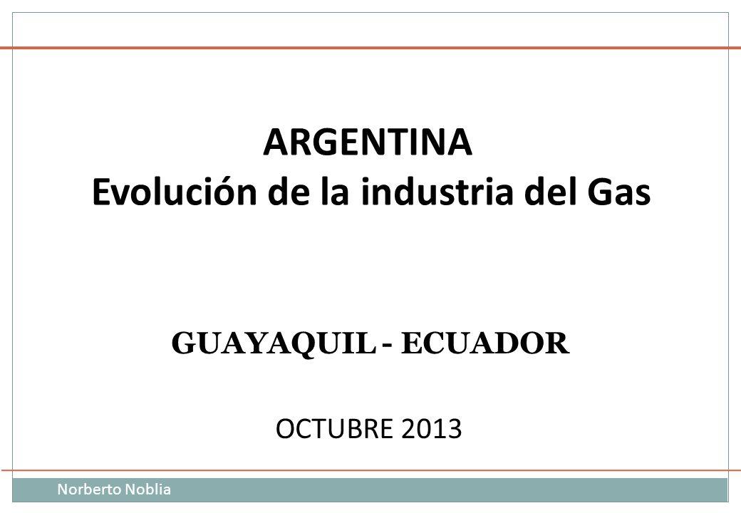 Evolución de la industria del Gas