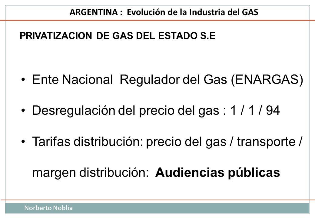 Ente Nacional Regulador del Gas (ENARGAS)