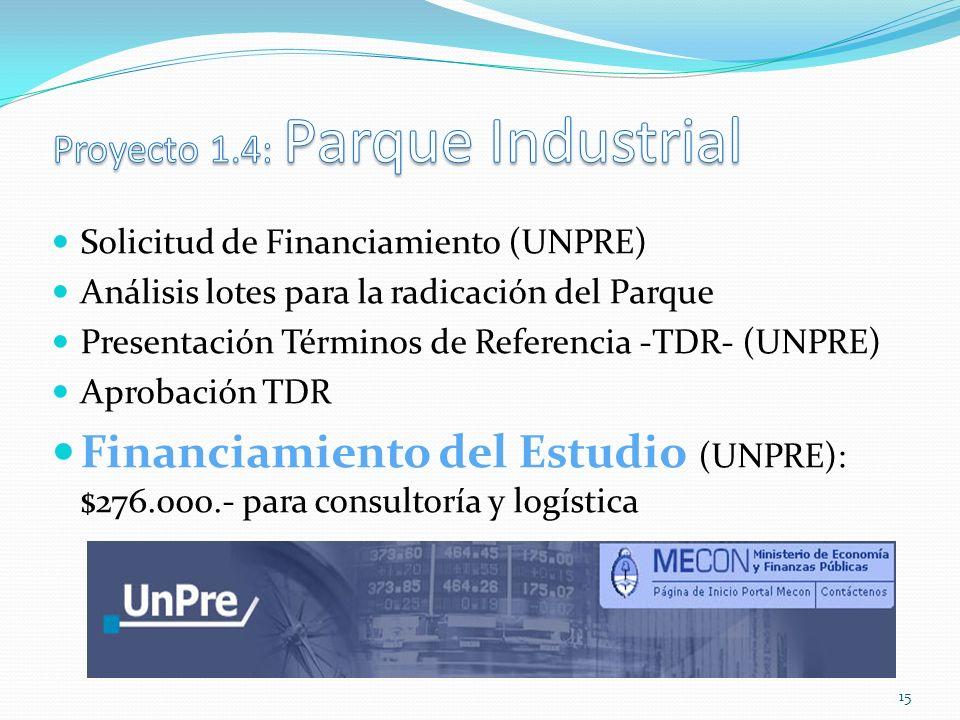 Proyecto 1.4: Parque Industrial