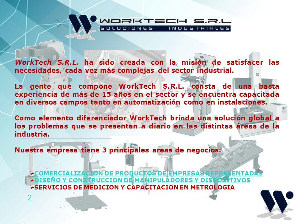 Nuestra empresa tiene 3 principales areas de negocios: