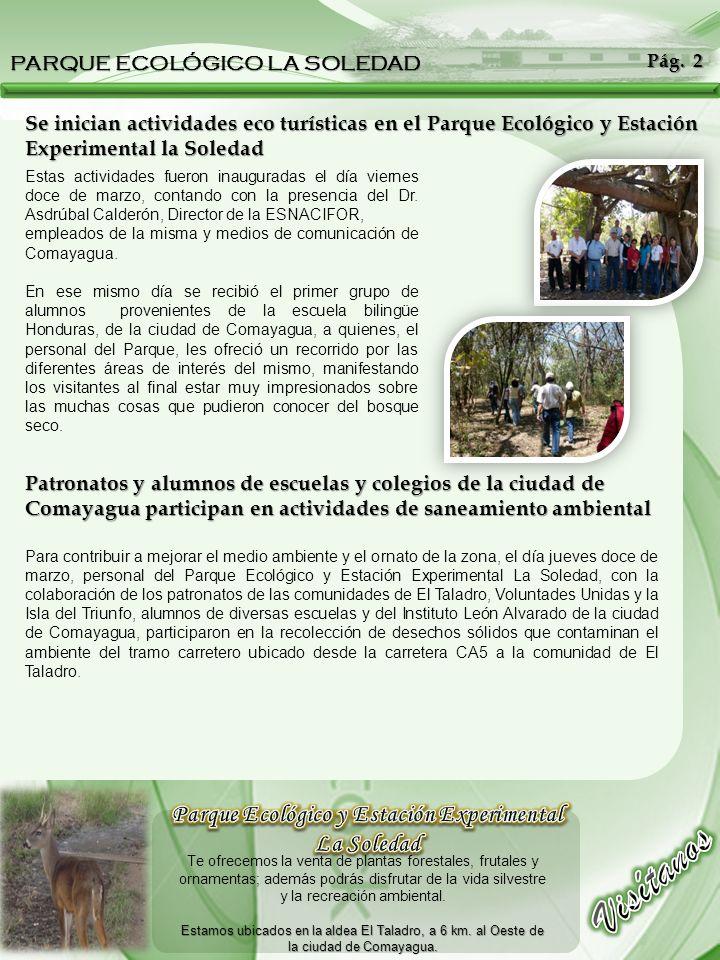 Parque Ecológico y Estación Experimental La Soledad