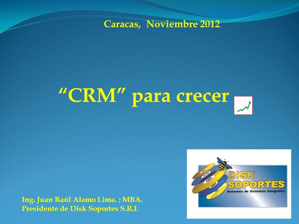 CRM para crecer Caracas, Noviembre 2012