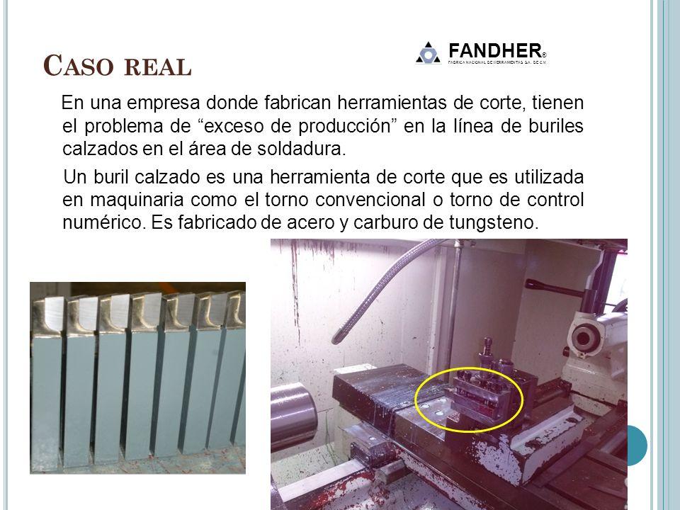 Caso real FANDHER® FABRICA NACIONAL DE HERRAMIENTAS S.A. DE C.V.