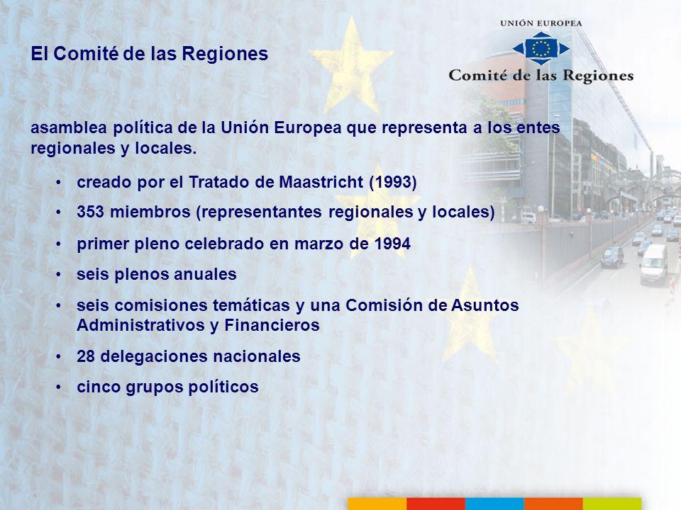 El Comité de las Regiones