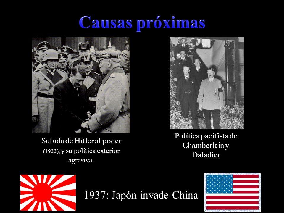 Causas próximas 1937: Japón invade China