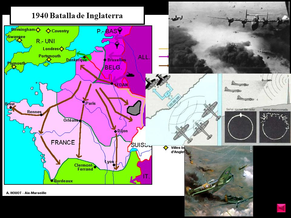 1940 Batalla de Inglaterra