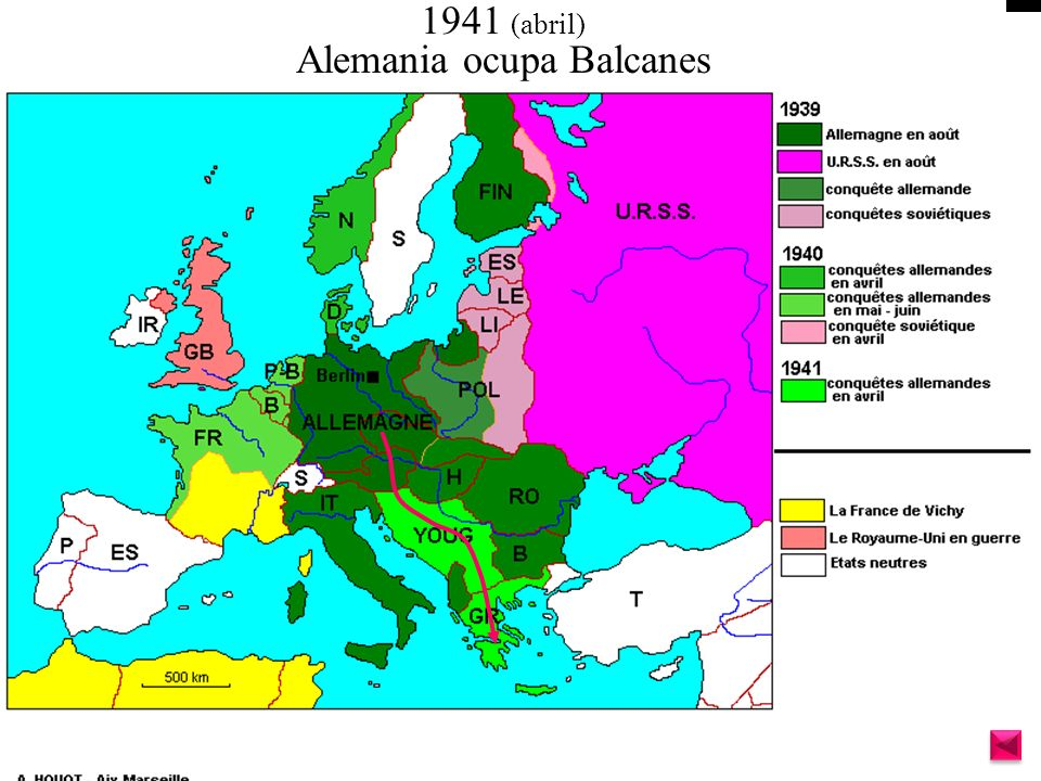 Alemania ocupa Balcanes