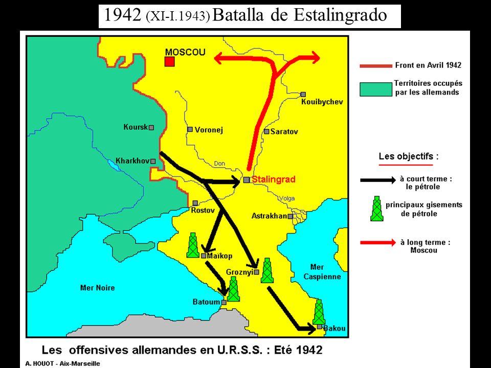 1942 (XI-I.1943) Batalla de Estalingrado