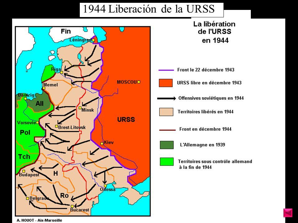 1944 Liberación de la URSS