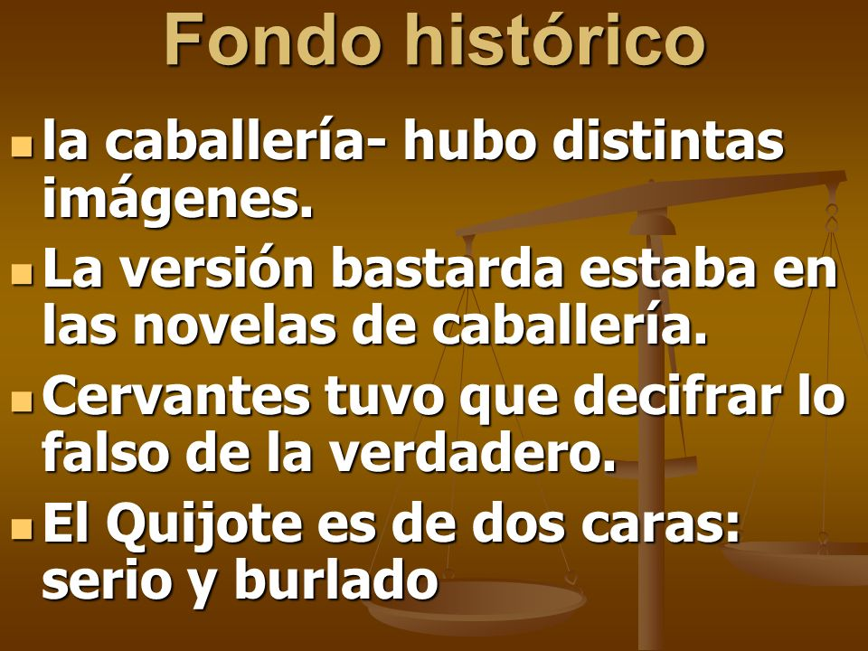 Fondo histórico la caballería- hubo distintas imágenes.