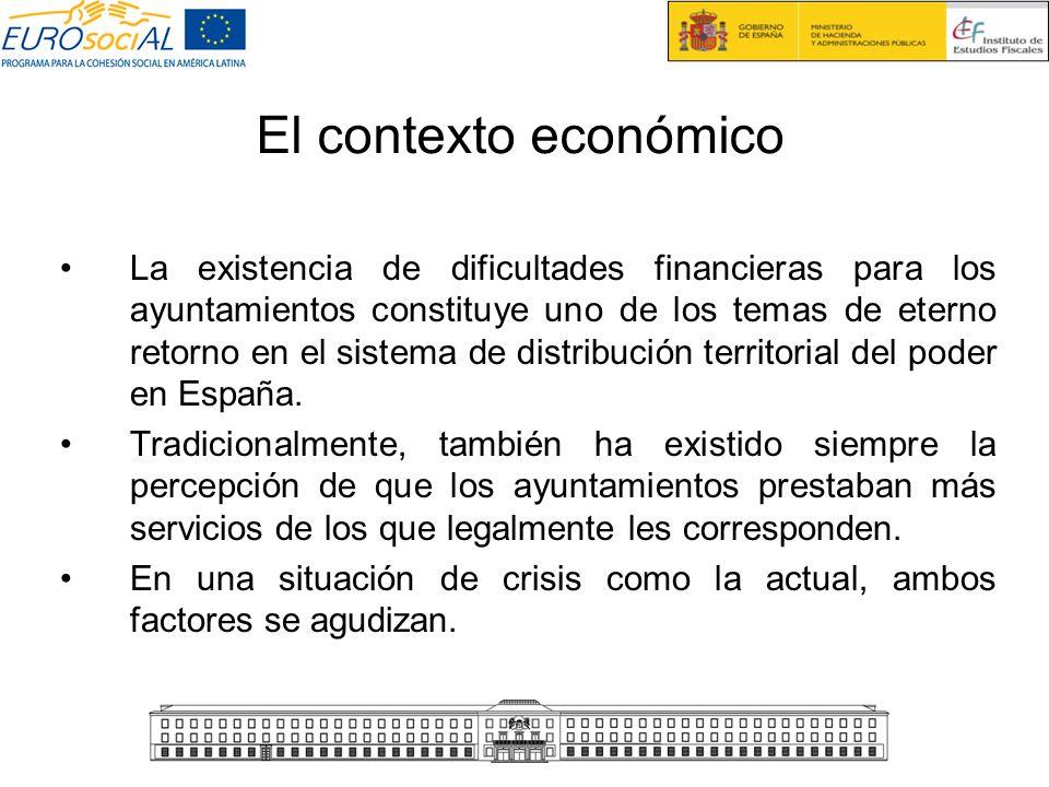 El contexto económico