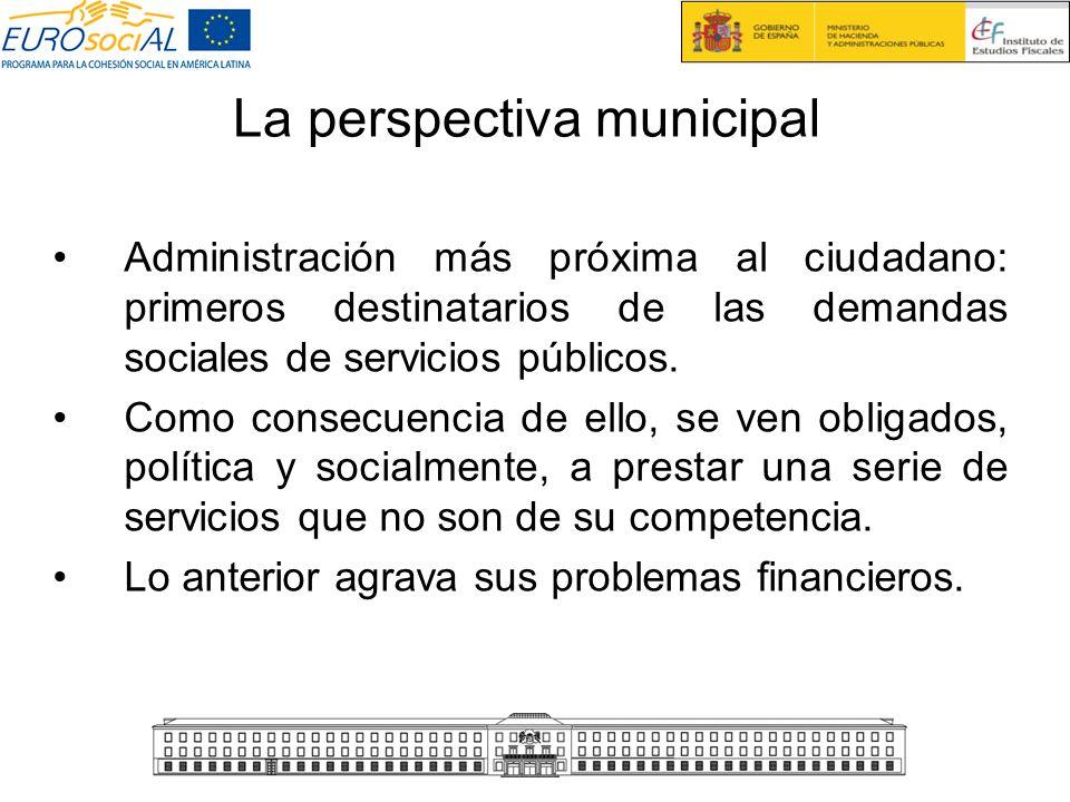 La perspectiva municipal