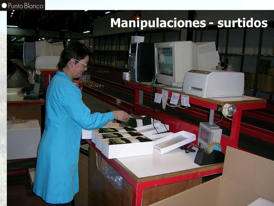 Manipulaciones - surtidos