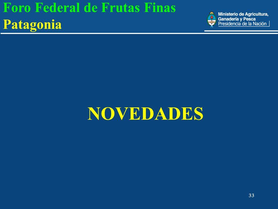 NOVEDADES Foro Federal de Frutas Finas Patagonia