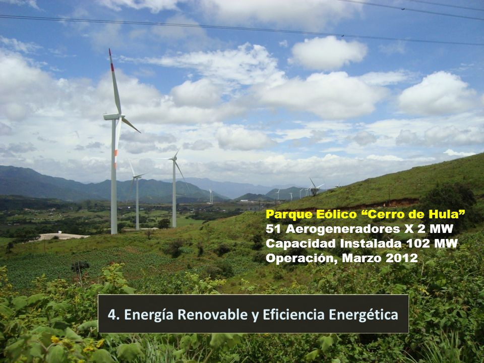 4. Energía Renovable y Eficiencia Energética