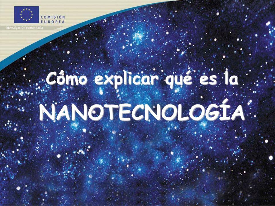 Cómo explicar qué es la NANOTECNOLOGÍA