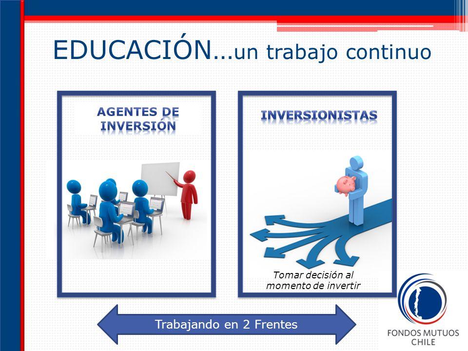 EDUCACIÓN…un trabajo continuo