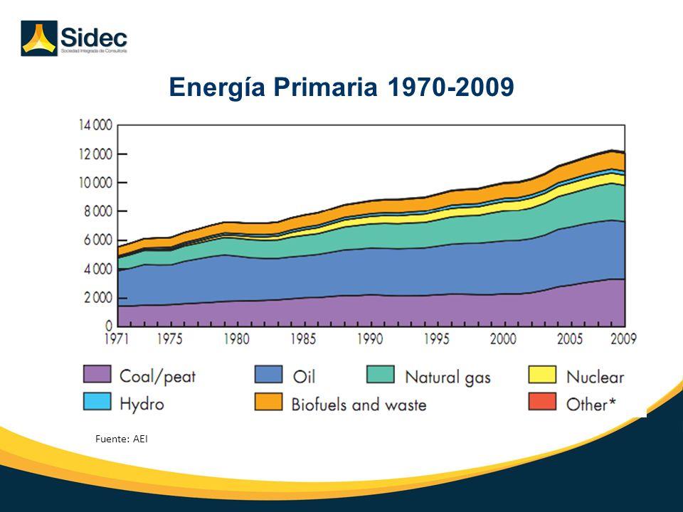Energía Primaria 1970-2009 Introducción Situación Actual Perspectivas